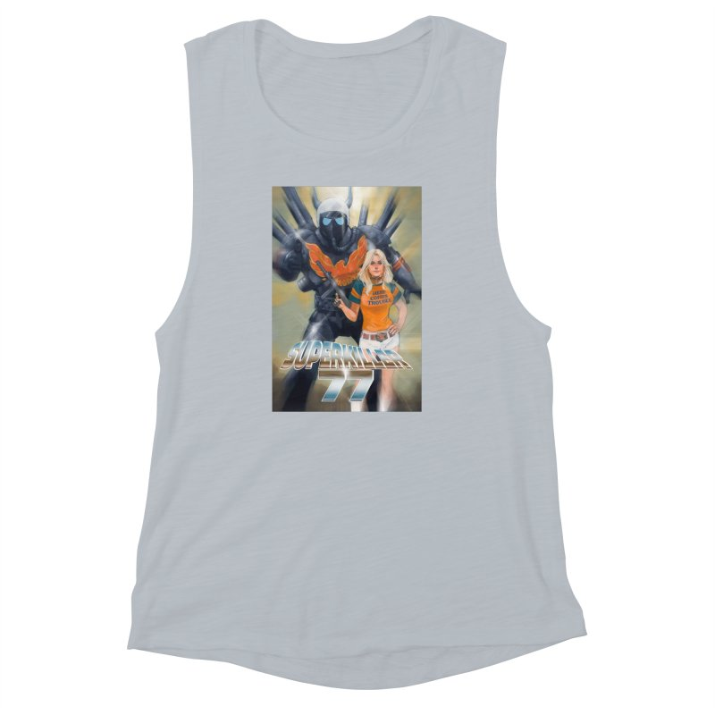 Superkiller 77 Women's Muscle Tank by Phil Noto's Shop