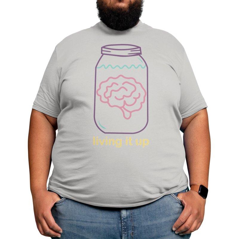 Brain in a Vat Men's T-Shirt by Kingdom of Trends