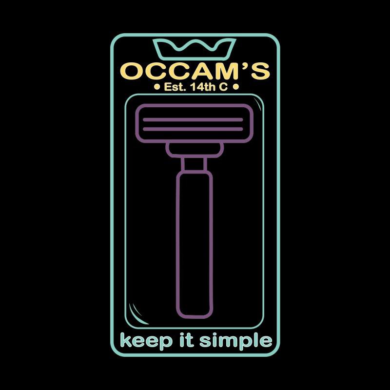 Occam's Razor Men's T-Shirt by Kingdom of Trends