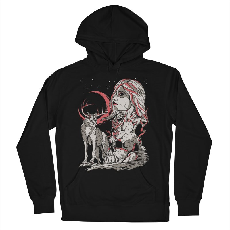 Guardian at Skullcap Women's Pullover Hoody by Phil Ryan's Artist Shop