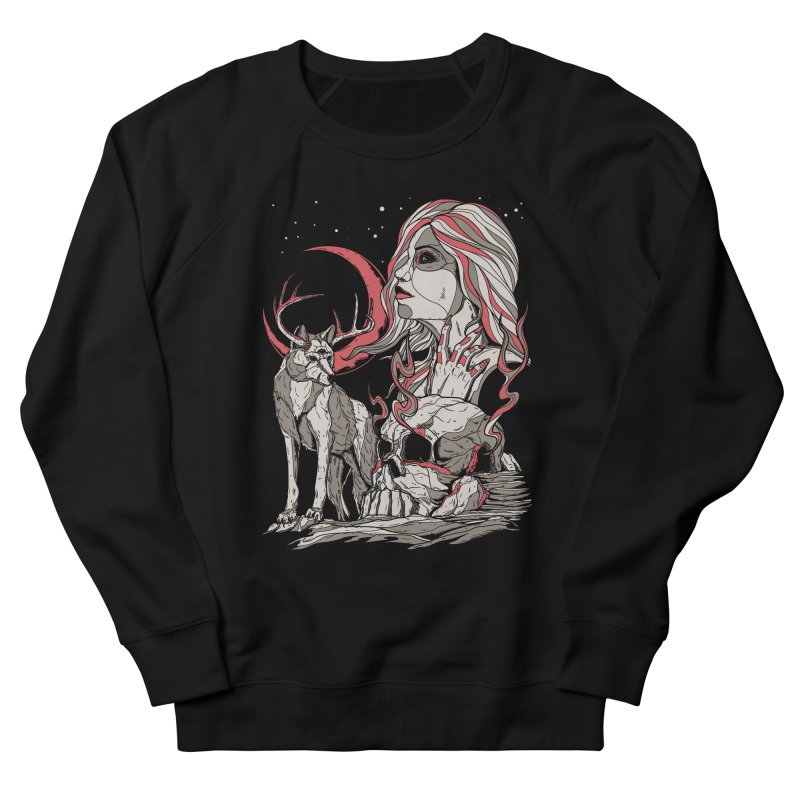 Guardian at Skullcap Men's Sweatshirt by Phil Ryan's Artist Shop