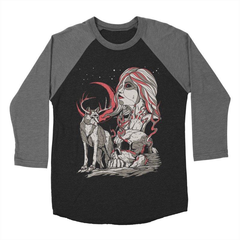 Guardian at Skullcap Women's Baseball Triblend T-Shirt by Phil Ryan's Artist Shop