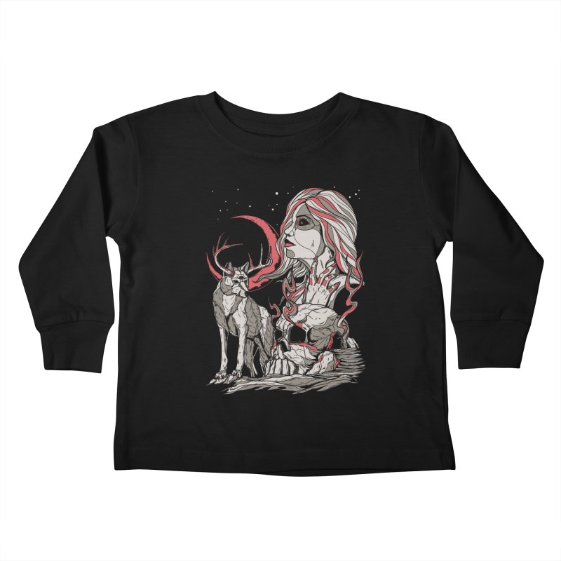 Guardian at Skullcap Kids Toddler Longsleeve T-Shirt by Phil Ryan's Artist Shop