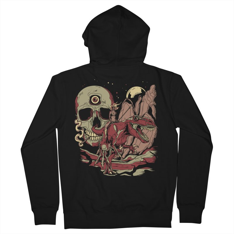 Good Times in Time Men's Zip-Up Hoody by Phil Ryan's Artist Shop