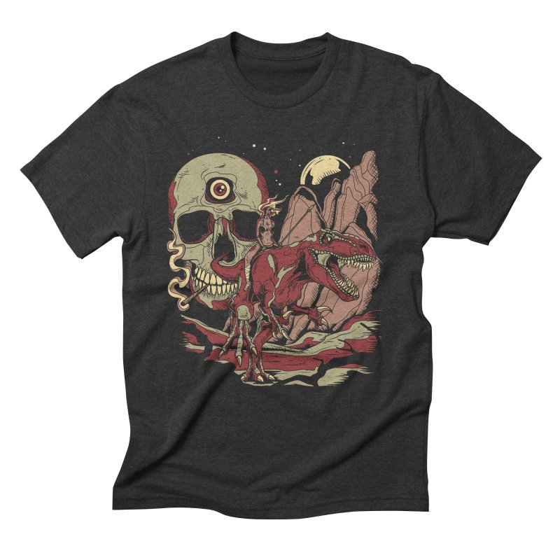 Good Times in Time Men's Triblend T-shirt by Phil Ryan's Artist Shop