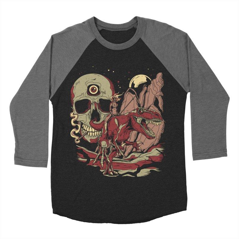 Good Times in Time Men's Baseball Triblend T-Shirt by Phil Ryan's Artist Shop