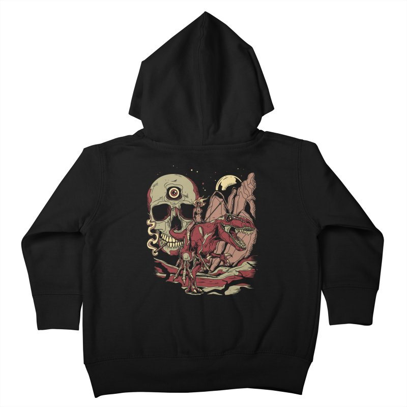 Good Times in Time Kids Toddler Zip-Up Hoody by Phil Ryan's Artist Shop