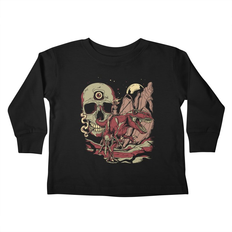 Good Times in Time Kids Toddler Longsleeve T-Shirt by Phil Ryan's Artist Shop