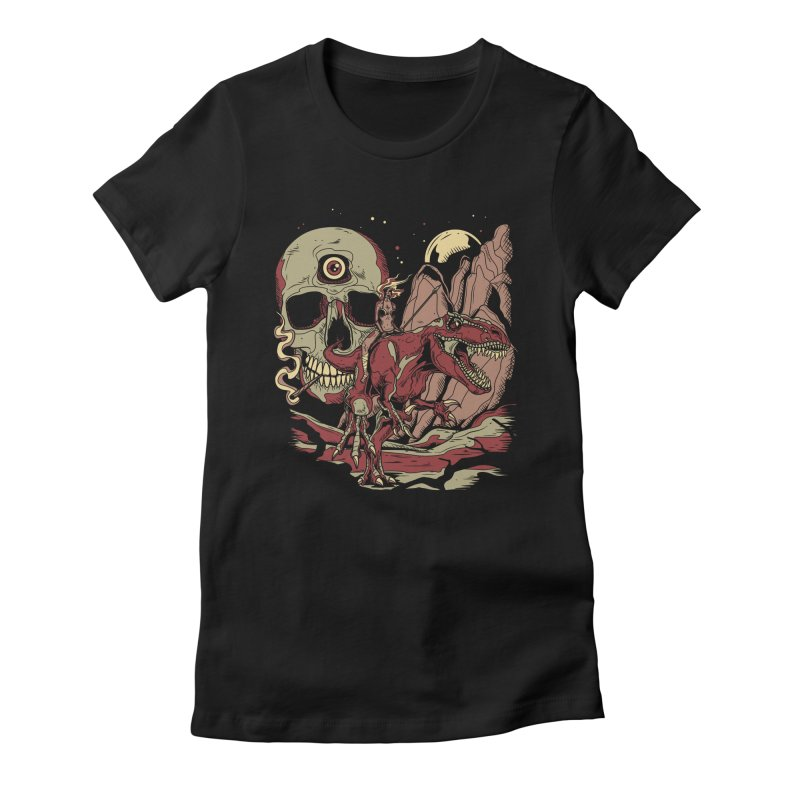 Good Times in Time Women's Fitted T-Shirt by Phil Ryan's Artist Shop