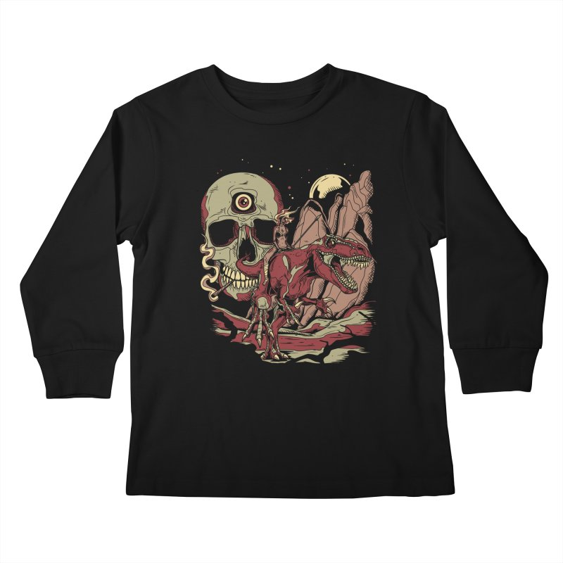 Good Times in Time Kids Longsleeve T-Shirt by Phil Ryan's Artist Shop