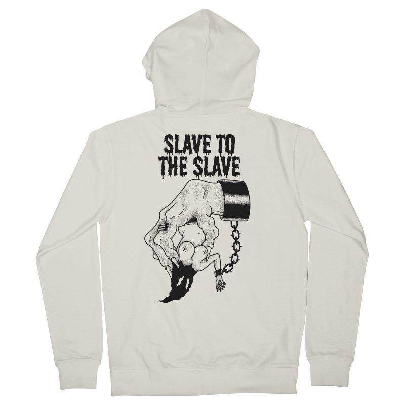 Slave To The Slave Men's Zip-Up Hoody by Phil Ryan's Artist Shop
