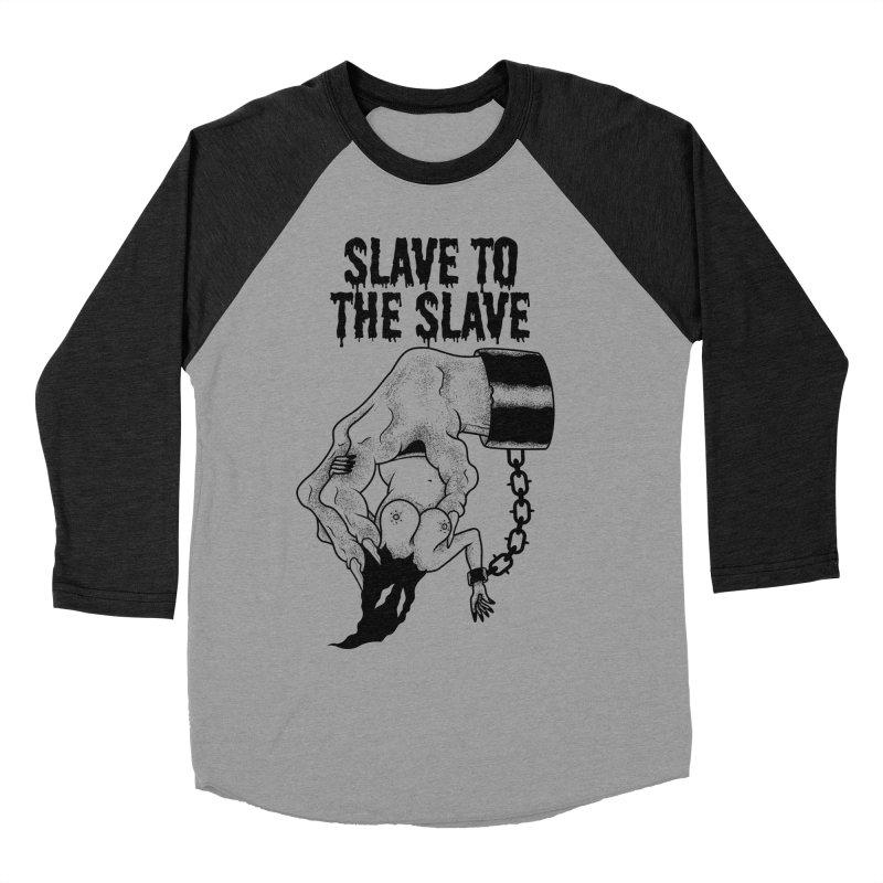 Slave To The Slave Women's Baseball Triblend T-Shirt by Phil Ryan's Artist Shop