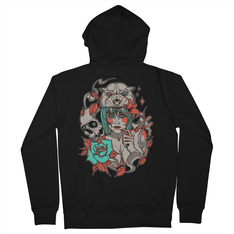 Burning Bright Women's Zip-Up Hoody by Phil Ryan's Artist Shop