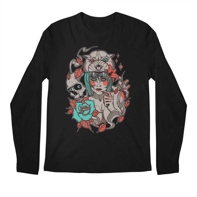 Burning Bright Men's Longsleeve T-Shirt by Phil Ryan's Artist Shop