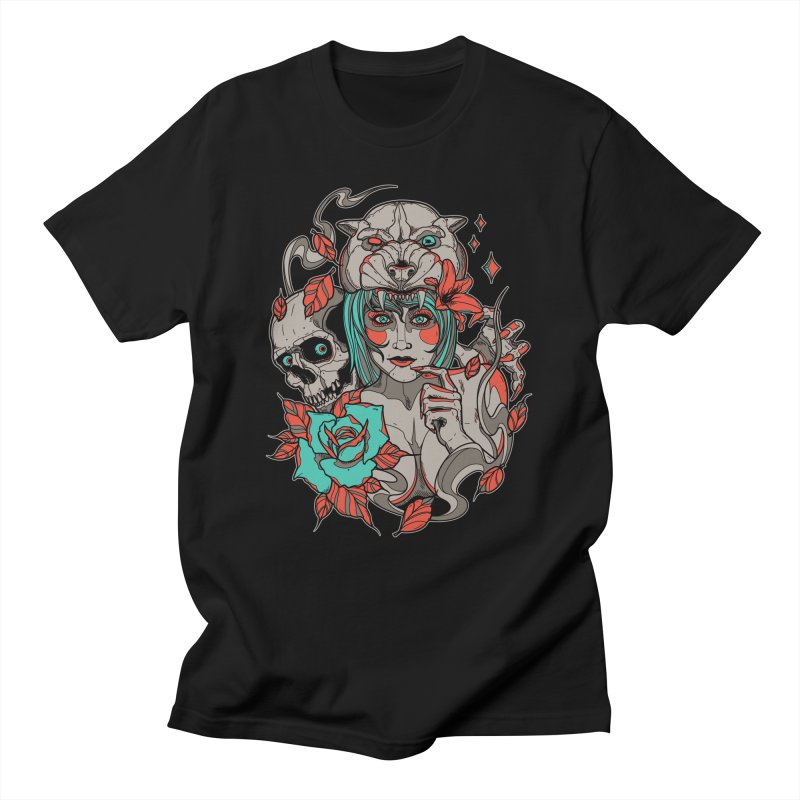 Burning Bright Men's T-shirt by Phil Ryan's Artist Shop