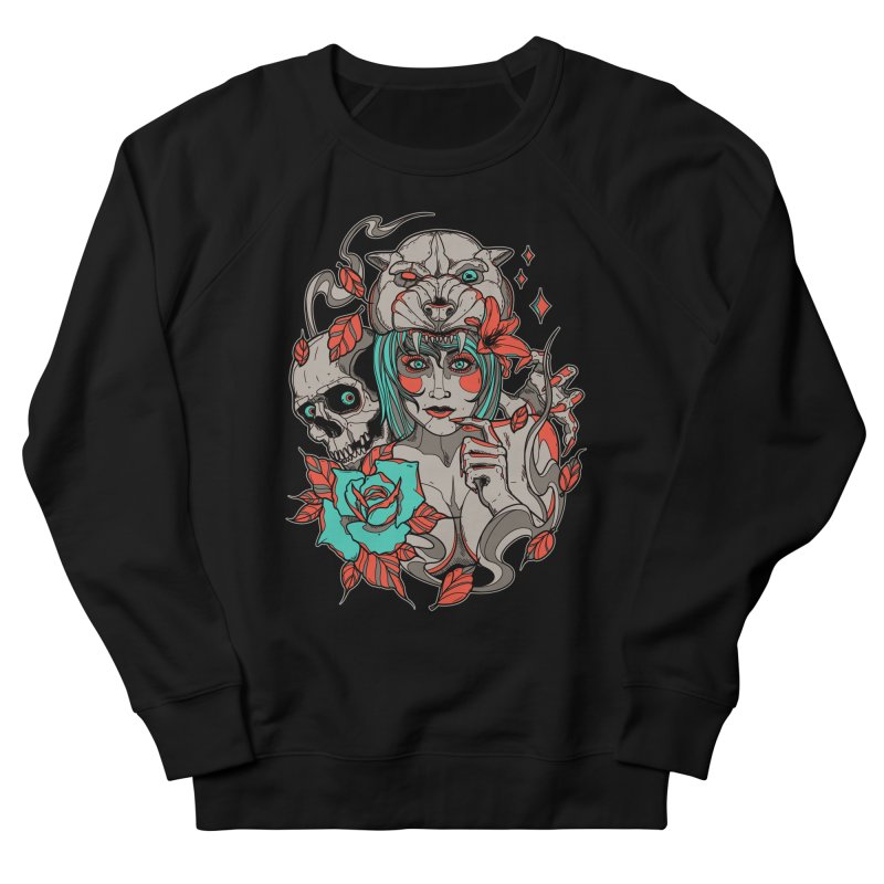 Burning Bright Women's Sweatshirt by Phil Ryan's Artist Shop