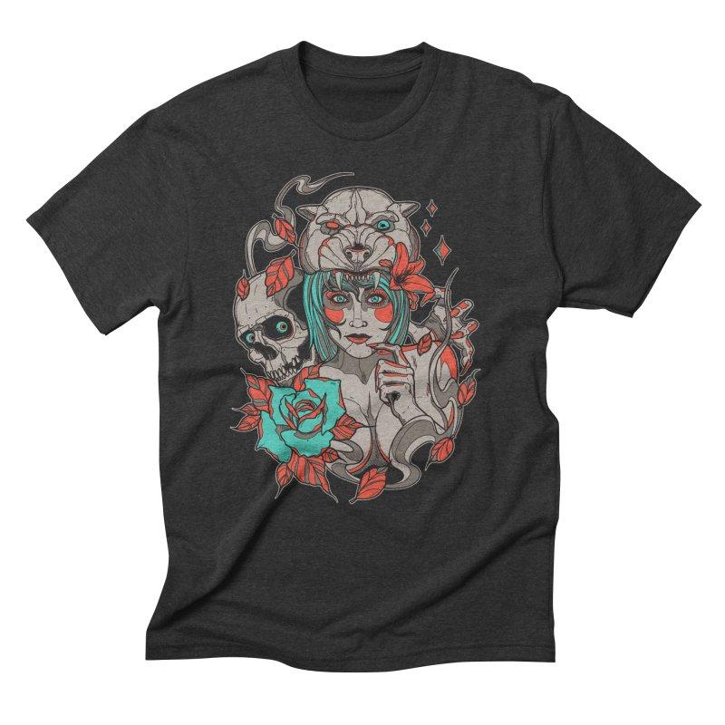 Burning Bright Men's Triblend T-shirt by Phil Ryan's Artist Shop