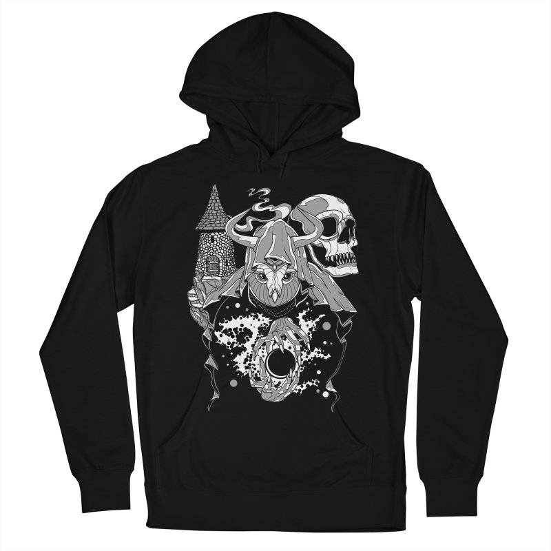 Curse of the Owl Wizard Men's Pullover Hoody by Phil Ryan's Artist Shop