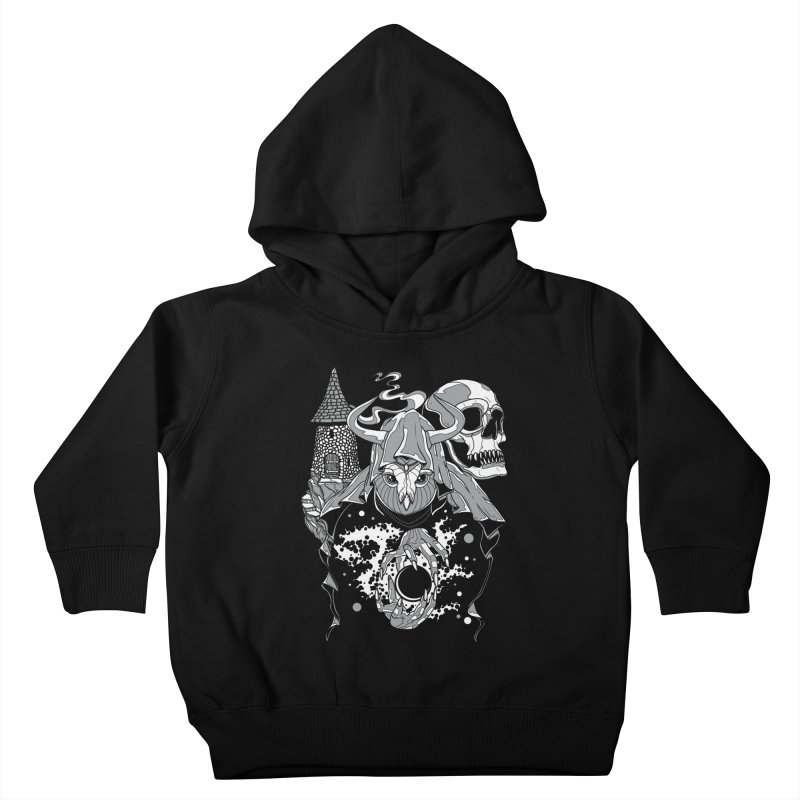Curse of the Owl Wizard Kids Toddler Pullover Hoody by Phil Ryan's Artist Shop