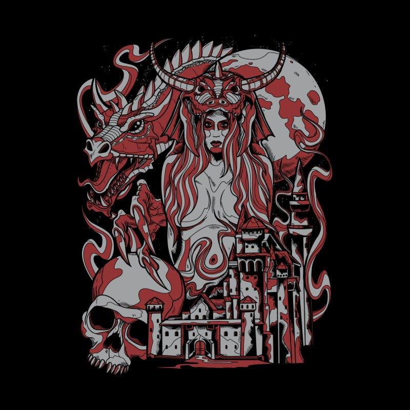 Dragon Priest None  by Phil Ryan's Artist Shop