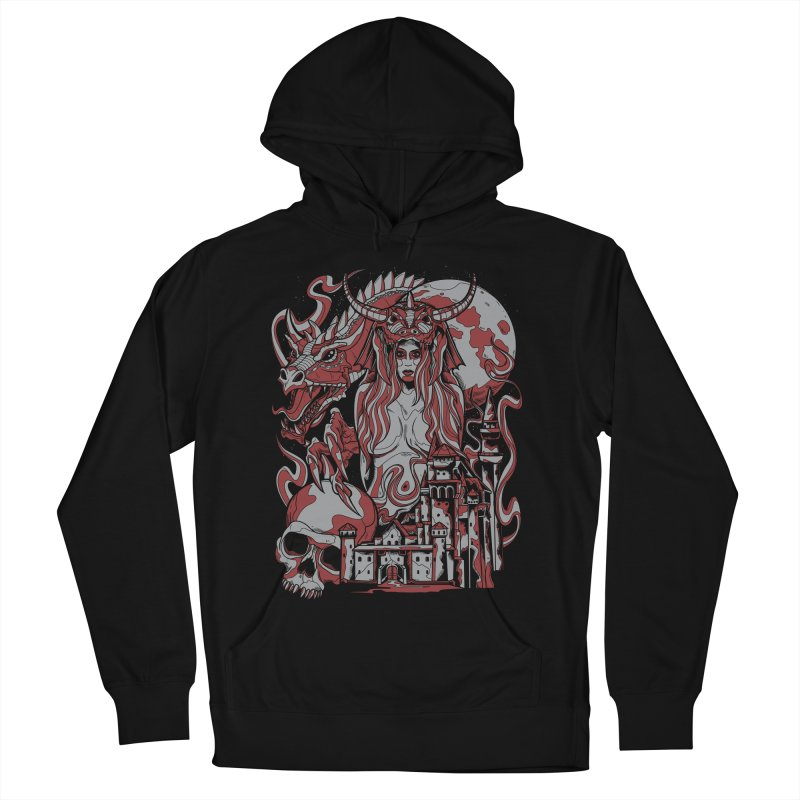 Dragon Priest Women's Pullover Hoody by Phil Ryan's Artist Shop