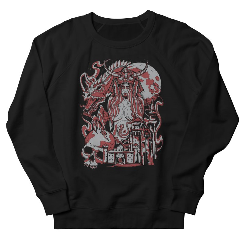 Dragon Priest Women's Sweatshirt by Phil Ryan's Artist Shop