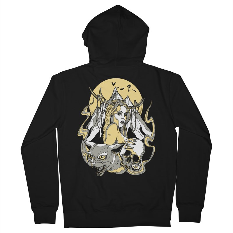 Witch Mountain Women's Zip-Up Hoody by Phil Ryan's Artist Shop