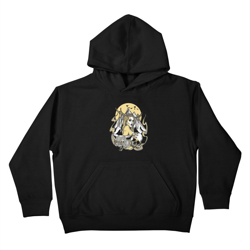 Witch Mountain Kids Pullover Hoody by Phil Ryan's Artist Shop