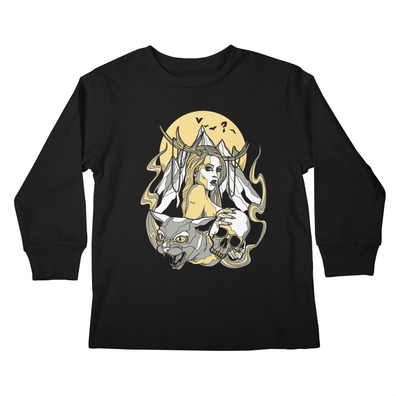 Witch Mountain Kids Longsleeve T-Shirt by Phil Ryan's Artist Shop