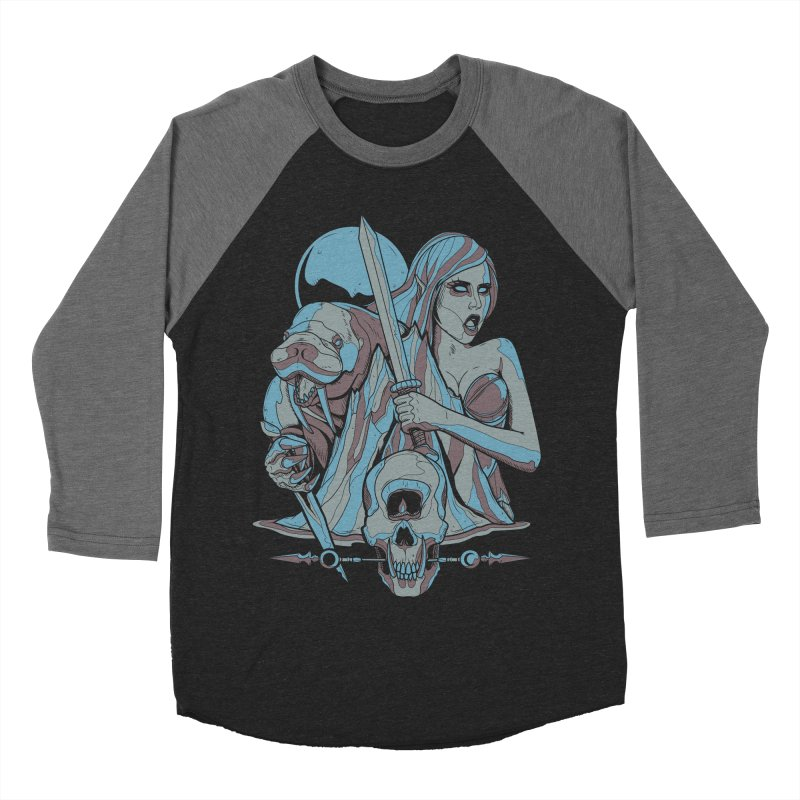 The Battle for Icewall Women's Baseball Triblend T-Shirt by Phil Ryan's Artist Shop
