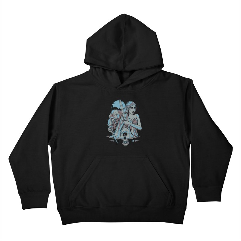 The Battle for Icewall Kids Pullover Hoody by Phil Ryan's Artist Shop