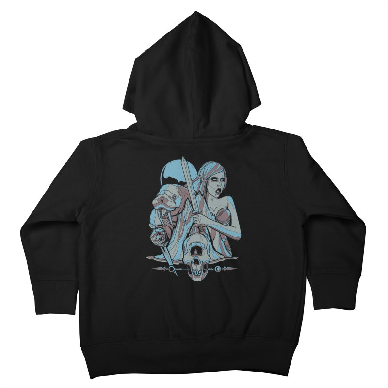 The Battle for Icewall Kids Toddler Zip-Up Hoody by Phil Ryan's Artist Shop