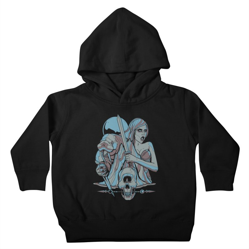 The Battle for Icewall Kids Toddler Pullover Hoody by Phil Ryan's Artist Shop