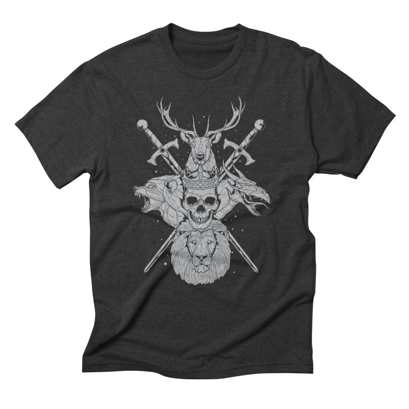 The Game of Thrones Men's Triblend T-shirt by Phil Ryan's Artist Shop