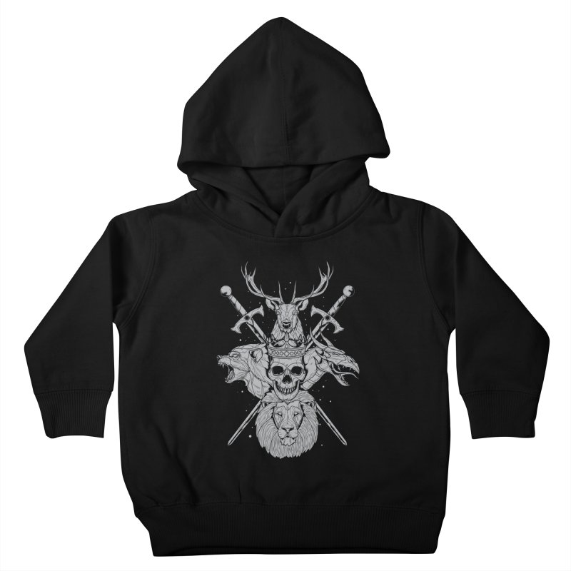 The Game of Thrones Kids Toddler Pullover Hoody by Phil Ryan's Artist Shop