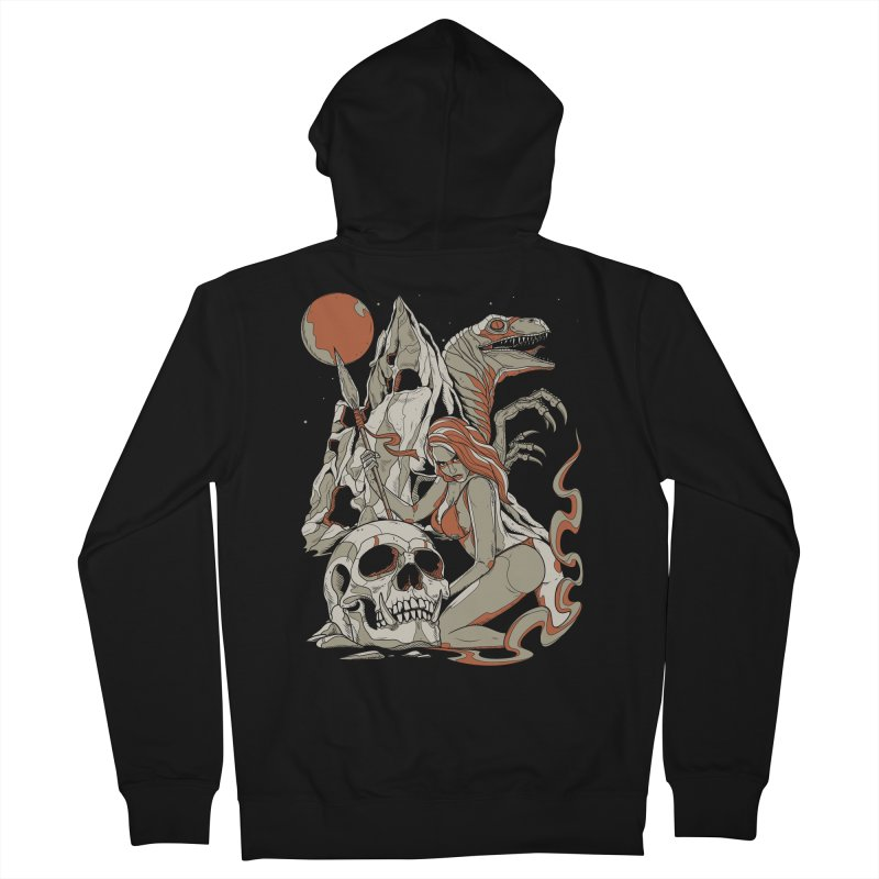 Lord of the Jungle Men's Zip-Up Hoody by Phil Ryan's Artist Shop