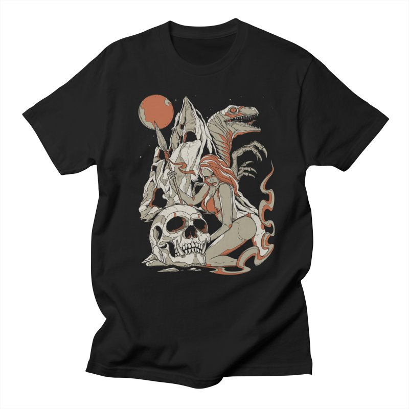 Lord of the Jungle Men's T-shirt by Phil Ryan's Artist Shop
