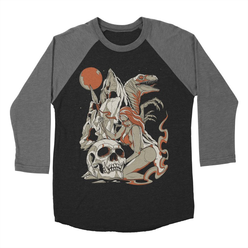 Lord of the Jungle Men's Baseball Triblend T-Shirt by Phil Ryan's Artist Shop