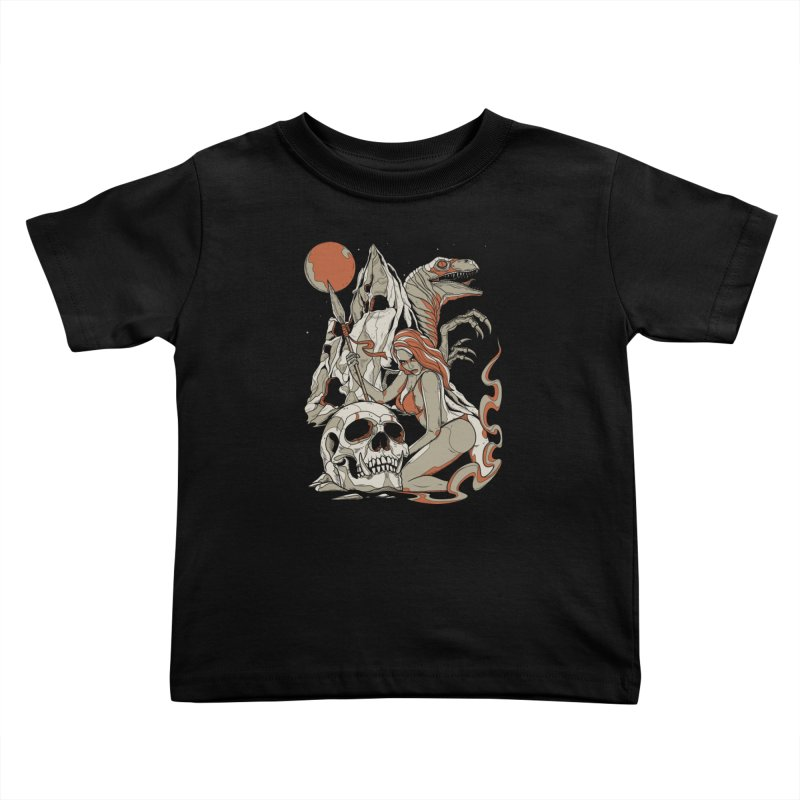 Lord of the Jungle Kids Toddler T-Shirt by Phil Ryan's Artist Shop