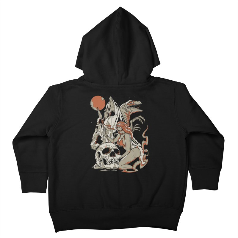 Lord of the Jungle Kids Toddler Zip-Up Hoody by Phil Ryan's Artist Shop
