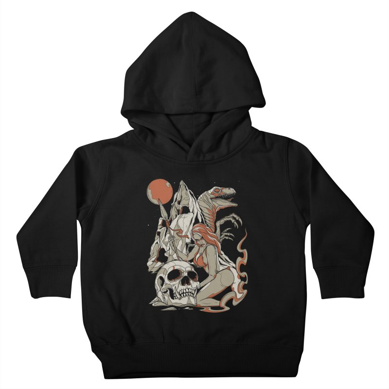 Lord of the Jungle Kids Toddler Pullover Hoody by Phil Ryan's Artist Shop