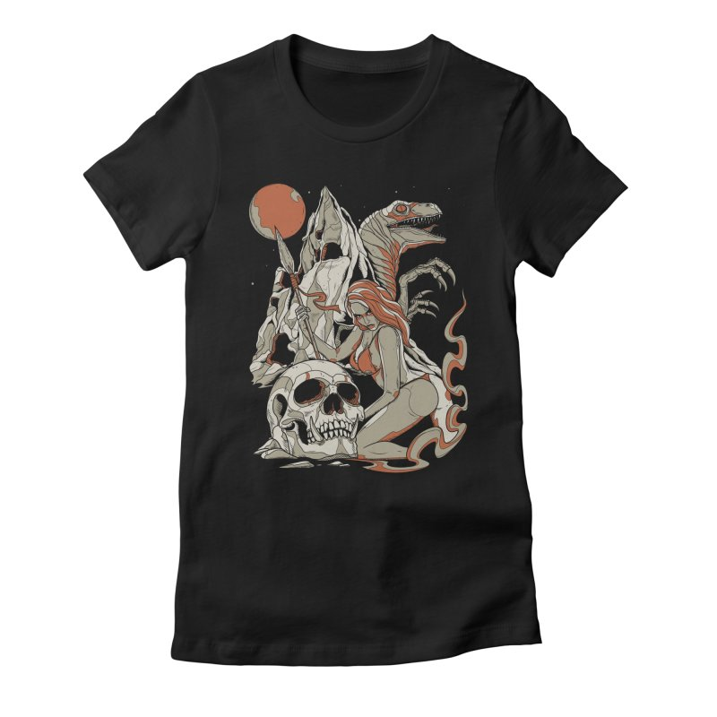 Lord of the Jungle Women's Fitted T-Shirt by Phil Ryan's Artist Shop