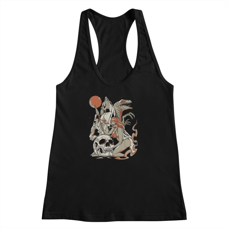 Lord of the Jungle Women's Racerback Tank by Phil Ryan's Artist Shop