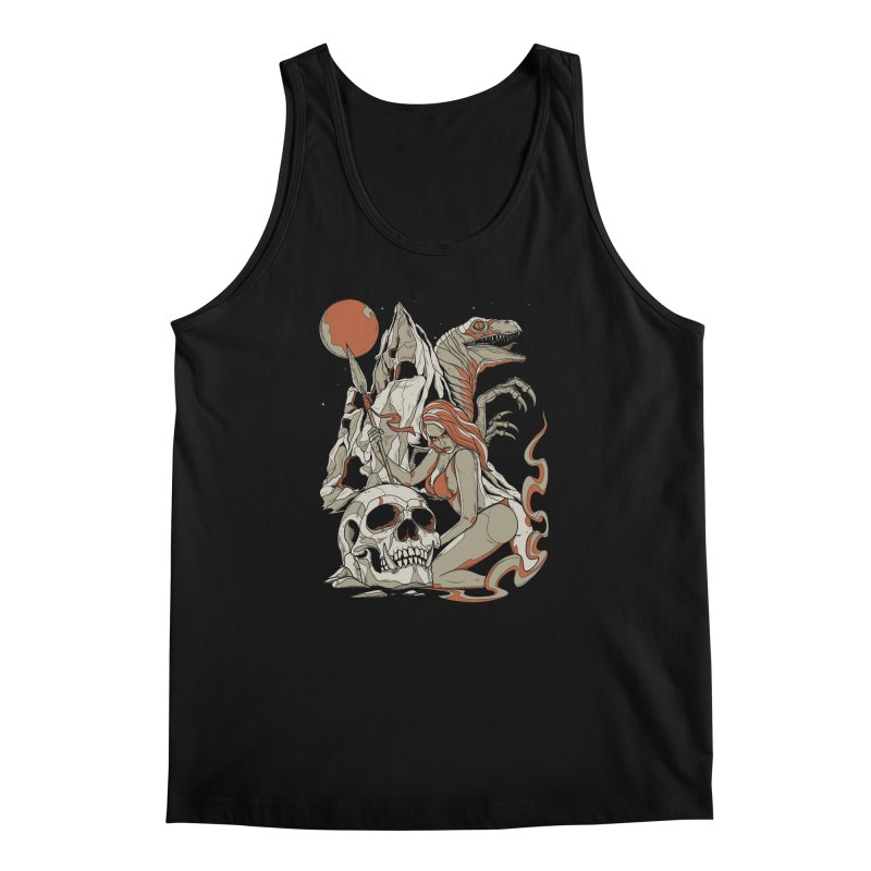 Lord of the Jungle Men's Tank by Phil Ryan's Artist Shop