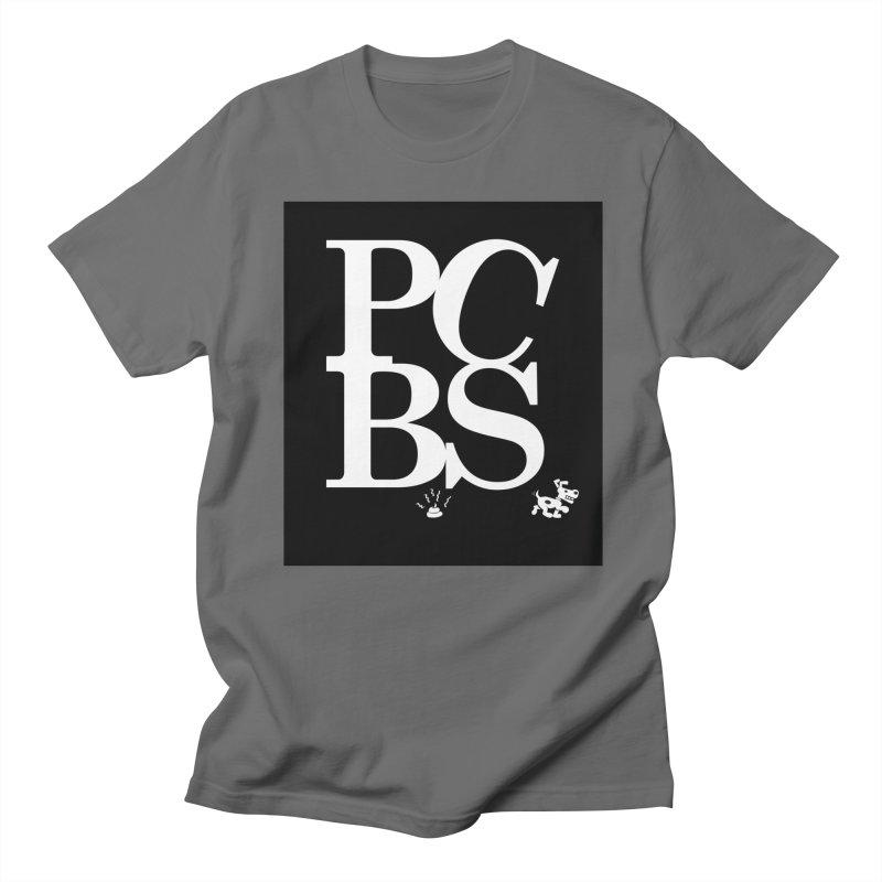 PCBS Men's T-Shirt by philscarr's Artist Shop