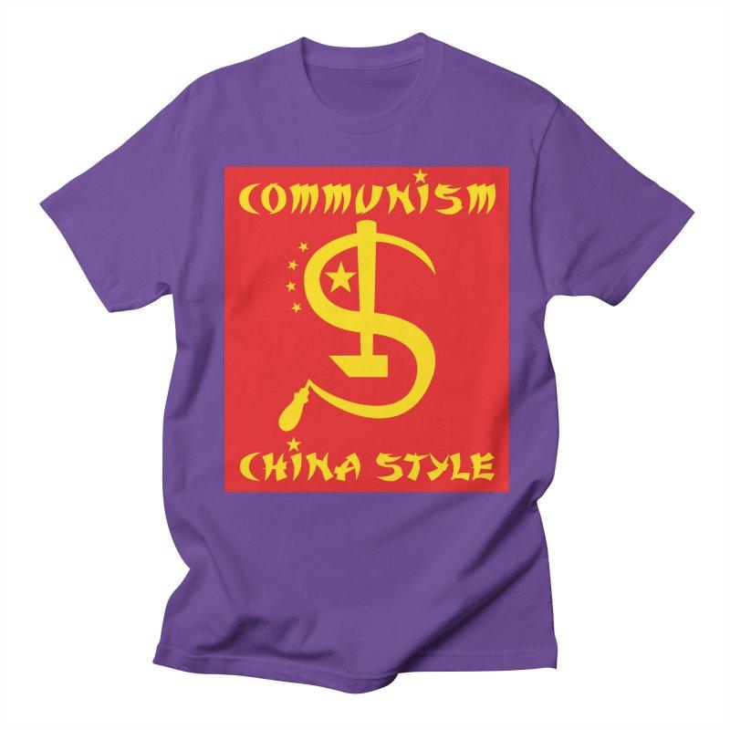 Communism China Style Men's T-Shirt by philscarr's Artist Shop