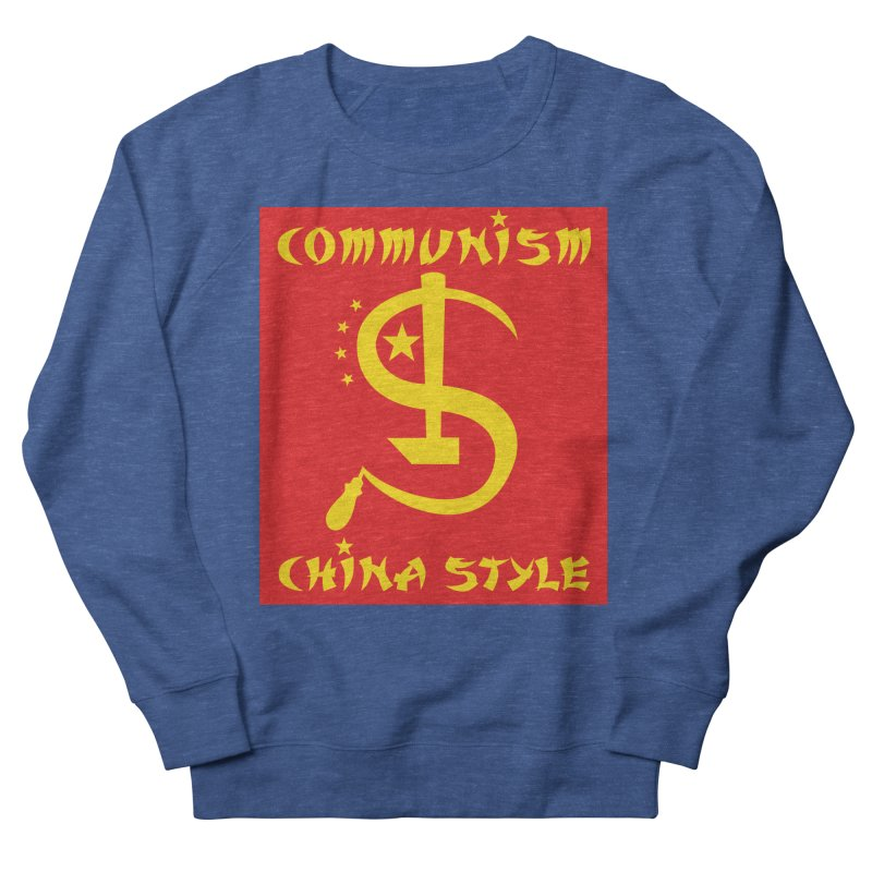 Communism China Style Men's Sweatshirt by philscarr's Artist Shop