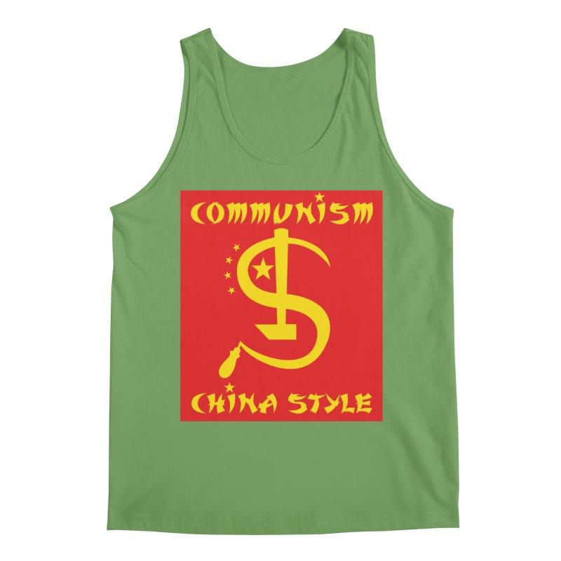 Communism China Style Men's Tank by philscarr's Artist Shop