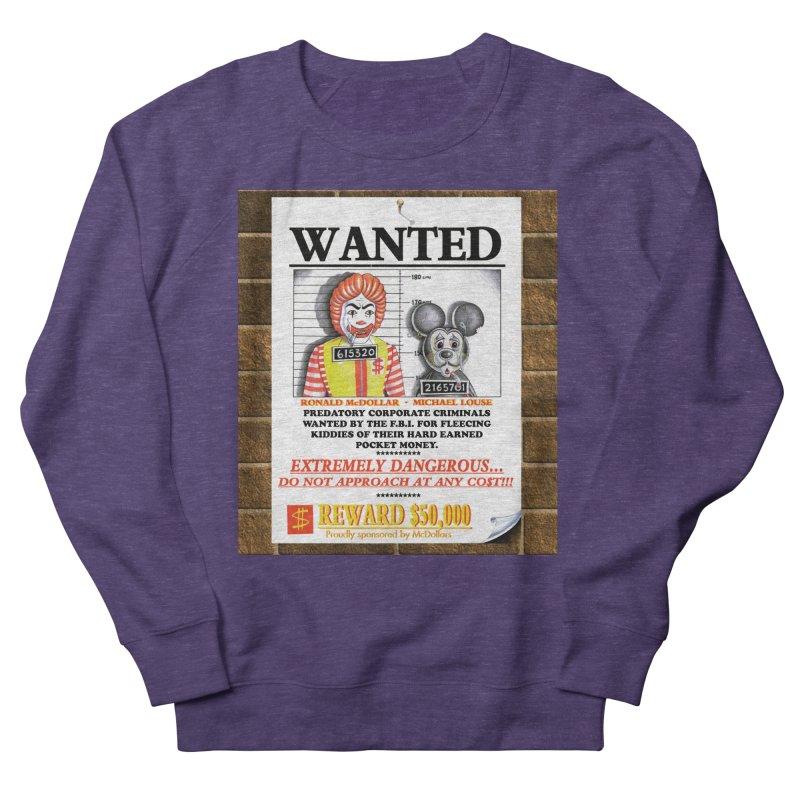 WANTED Men's Sweatshirt by philscarr's Artist Shop