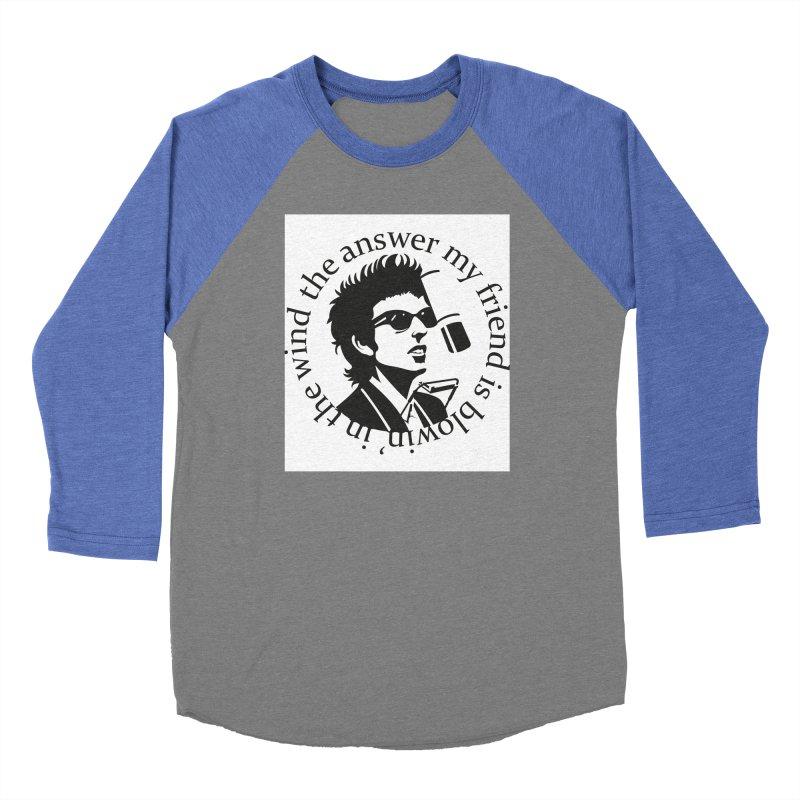 Blowin in the Wind. Women's Baseball Triblend Longsleeve T-Shirt by philscarr's Artist Shop